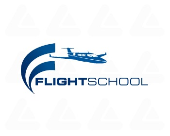 Logo design: Flight School 5