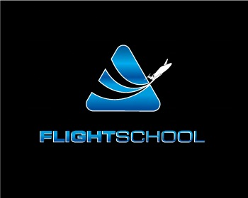 Logo pronto in vendita: Flight School 7
