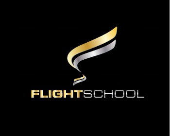 Logo design: Flight School 9