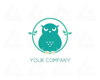 Ready made logo design: OWLEAF