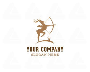 Ready made logo design: Deer Archery