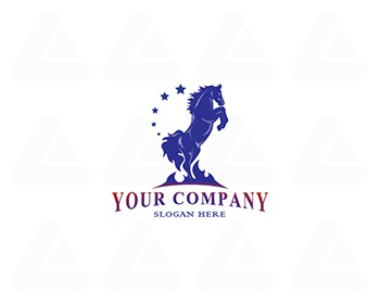 Ready made logo design: Horse