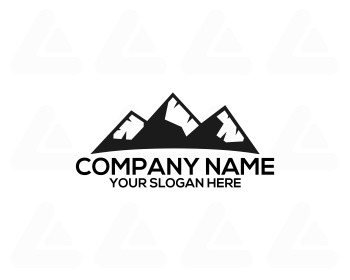 Ready made logo design: Mountain
