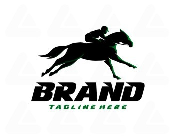 Ready Made Logo Horse Racing