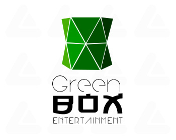 Fertige logo: GreenBox Entertainment