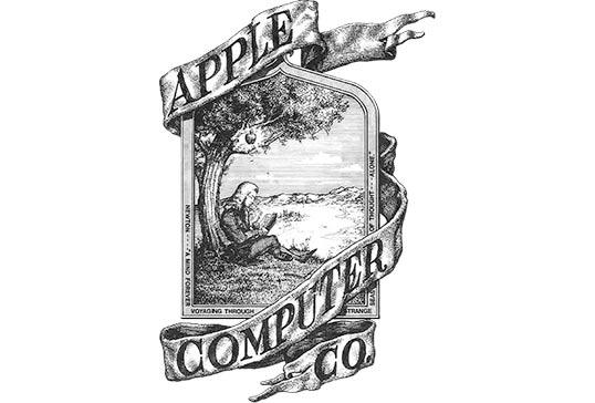 (Old Apple logo)
